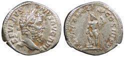 Ancient Coins - Septimius Severus 193-211 A.D. Denarius Rome Mint Good VF