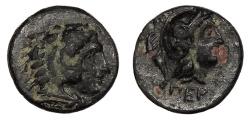 Ancient Coins - Mysia Pergamon 310-284 B.C. AE10 Near EF