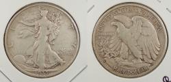 Us Coins - 1935-S Walking Liberty 50 Cents (Half Dollar)