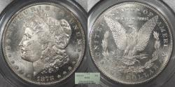 Us Coins - 1878 CC Morgan 1 Dollar (Silver) PCGS MS-63