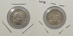 World Coins - GERMAN STATES: Prussia 1867-B 1/2 Silbergroschen