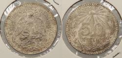 World Coins - MEXICO: 1945-M 50 Centavos