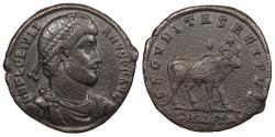 Ancient Coins - Julian II 361-363 A.D. AE1 Antioch Mint Near VF
