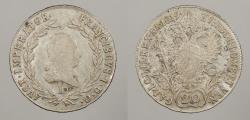 World Coins - AUSTRIA: 1819-A 20 Kreuzer