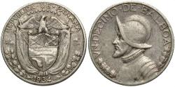 World Coins - PANAMA: 1934 1/10 Balboa
