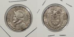 World Coins - PANAMA: 1931 1/10 Balboa (Decimo)