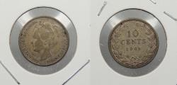World Coins - NETHERLANDS: 1905 10 Cents