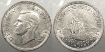 SOUTH AFRICA: 1952 5 Shillings