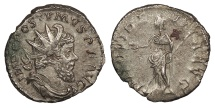 Ancient Coins - Postumus 259-268 A.D. Antoninianus Cologne Mint Good VF