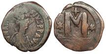 Ancient Coins - Anastasius I 491-518 A.D. Large module follis Constantinople Mint Fine