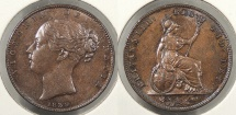 World Coins - GREAT BRITAIN: 1839 Farthing
