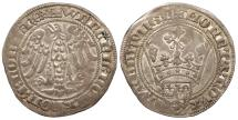 World Coins - LUXEMBOURG Wenceslas IV, Duke of Luxembourg 1383-1388 Gros d' Argent (Double Groat) EF