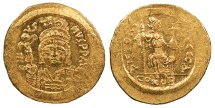 Ancient Coins - Justin II 565-578 A.D. Solidus Constantinople Mint Mint State