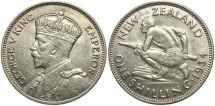 World Coins - NEW ZEALAND: 1934 1 Shilling