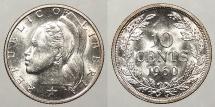 LIBERIA: 1960 10 Cents