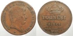 World Coins - ITALIAN STATES: Naples & Sicily 1833 10 Tornesi