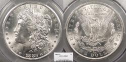 Us Coins - 1883 CC Morgan 1 Dollar (Silver) PCGS MS-63
