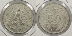 World Coins - MEXICO: 1935-M 50 Centavos