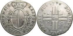 World Coins - SWISS CANTONS: Luzern 1796 40 Kreuzer