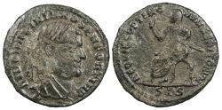 Ancient Coins - Divus Maximianus Died 310 A.D. Half Follis Siscia Mint VF