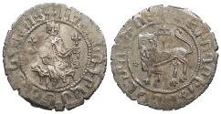 World Coins - ARMENIA Levon I, as King 1198-1219 Double Tram Good VF