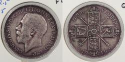 World Coins - GREAT BRITAIN: 1916 Florin