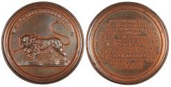 World Coins - GERMAN STATES Lothringen (Lorraine) Nancy Ferdinand De Saint-Urbain, Médailler of the Dukes of Lorraine. ND (1727-1734) AE 46mm Medal AU/UNC