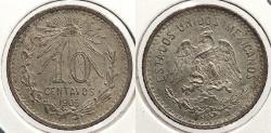 World Coins - MEXICO: 1905-Mo 10 Centavos