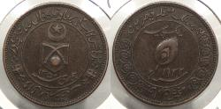 World Coins - INDIAN PRINCELY STATES: Tonk AH 1350 (1932) Large Size. Pice