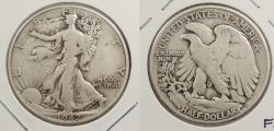 Us Coins - 1942 Walking Liberty 50 Cents (Half Dollar) Doubled die reverse