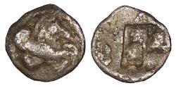 Ancient Coins - Macedon Argilos c. 500-475 B.C. Hemiobol Good Fine