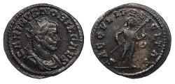 Ancient Coins - Carinus, as Caesar 282-283 A.D. Antoninianus Lugdunum Mint Good VF