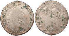 World Coins - FRANCE ND (Ca. 1672) Billon 25mm Jeton Fine