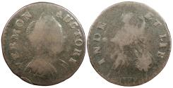 Us Coins - 1788 Vermont Copper Colonial Coinage RR-16; Br. 15-S; W-2120 Fine