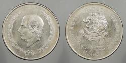 World Coins - MEXICO: 1952 Hidalgo. 5 Pesos