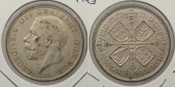 World Coins - GREAT BRITAIN: 1936 George V Florin
