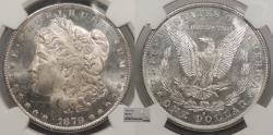 Us Coins - 1879 S Morgan 1 Dollar (Silver) NGC MS-65+