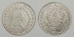 World Coins - AUSTRIA: 1793-B 20 Kreuzer