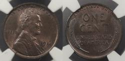 Us Coins - 1914 Lincoln 1 Cent NGC MS-64 BN
