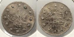 World Coins - TURKEY: AH1293 Y29 (1903) Kurush