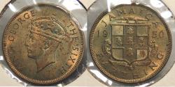 World Coins - JAMAICA: 1950 Farthing