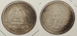 World Coins - MEXICO: 1879-Cn D 50 Centavos