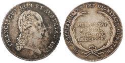 World Coins - AUSTRIA Wien (Vienna) Mint. Franz II 1804 AR 21mm Jeton (token) AU