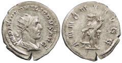 Ancient Coins - Philip I 244-249 A.D. Antoninianus Rome Mint Good VF