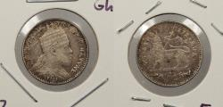 World Coins - ETHIOPIA: EE 1895 (1903)-A Ghersh