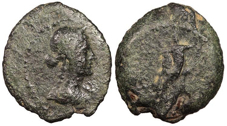 Ancient Coins - Ptolemaic Kings of Egypt Ptolemy VIII Euergetes 145-116 B.C. Chalkous Good Fine
