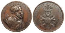 World Coins - FRANCE by Baron de Puymaurin and Jean-Pierre Droz. Ca. 1820 AE 41mm Medal