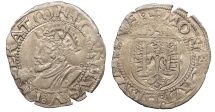 World Coins - FRANCE Besançon Charles V, as Holy Roman Emperor 1530-1556 Blanc 1542 EF