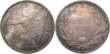 World Coins - CHILE: 1902 1 Peso