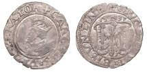 World Coins - FRANCE Besançon  Charles V, as Holy Roman Emperor 1530-1556 2 Blanc (Karolus)  VF